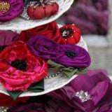 Blüten-Broschen